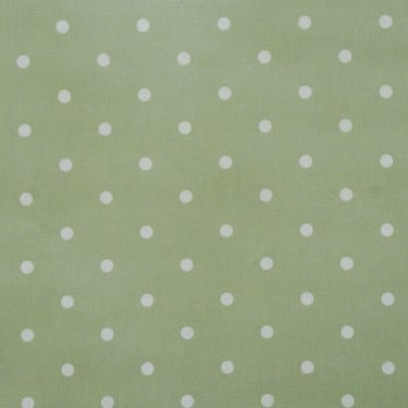 PVC Tablecloth Dotty Gloss - Sage