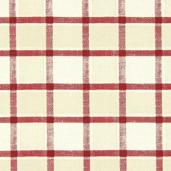 PVC Tablecloth - Fairford Cranberry (PVC5810/316)