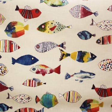 PVC Tablecloth - Gone Fishing Tropical