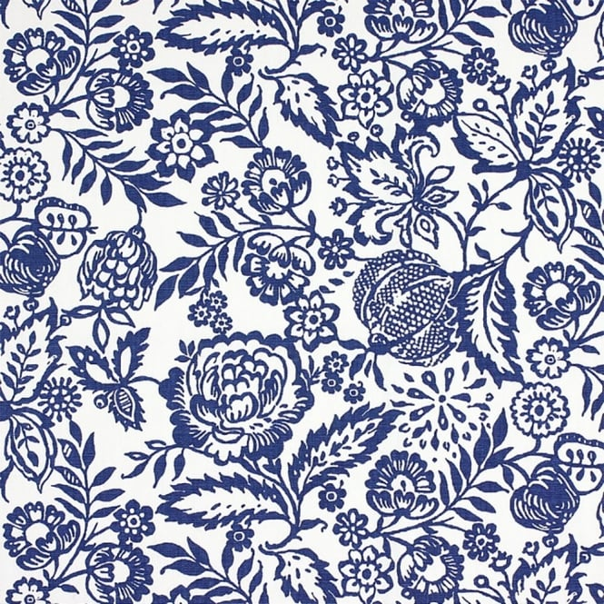 PVC Tablecloth - Polly Indigo (PVC2766/705)