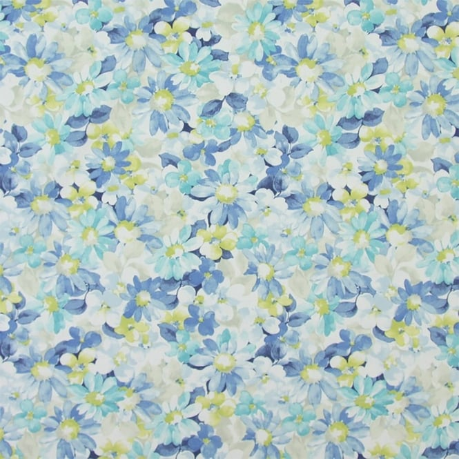 PVC Tablecloth - Pot Pourri Cornflower (PVC5864/518)