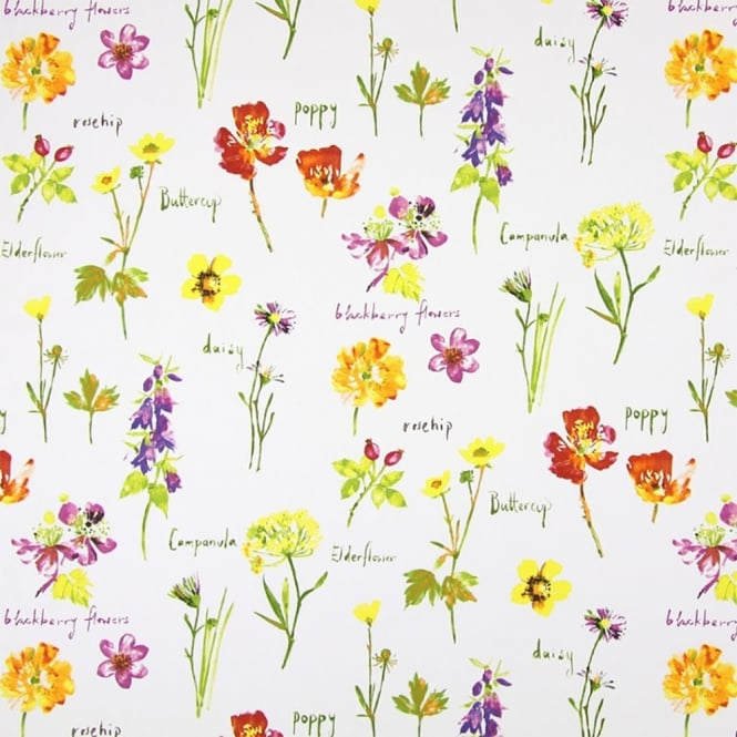 PVC Tablecloth - Wild Flowers Watercolour (PVC5814/587)