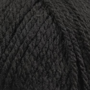 Robin Chunky 100g Knitting Yarn - Black (44)