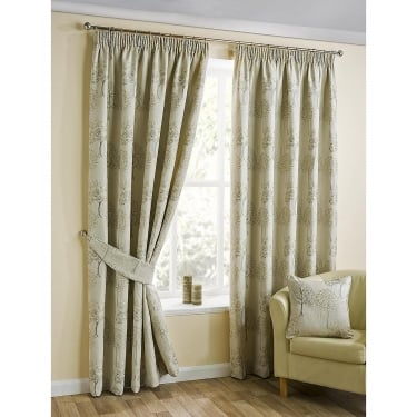 Rowan Natural Ready Made Curtains