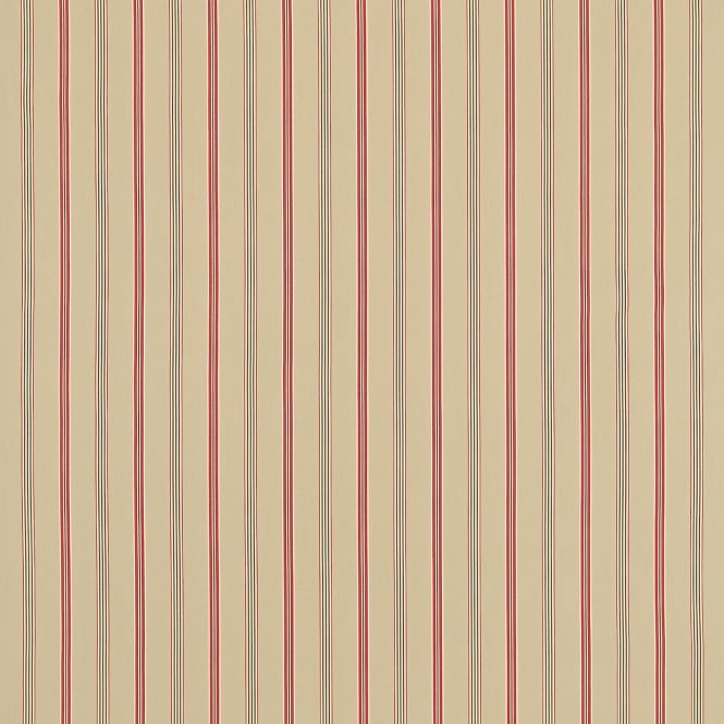 Sanderson DCST232674 Brecon Biscuit/Red