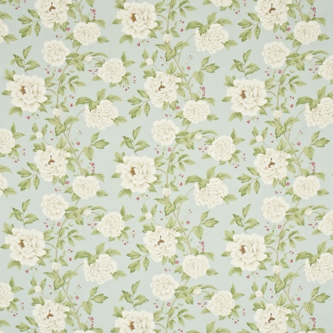 Sanderson DPEMPT201 Peony Tree Duckegg/Cream
