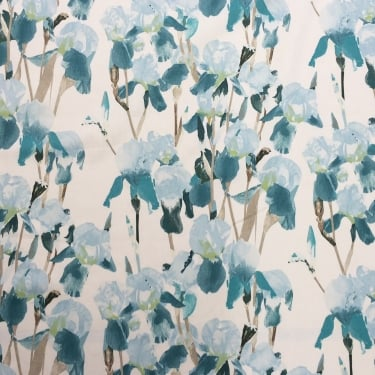 Marnie Teal Cotton Fabric