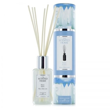 Scented Home Fresh Linen Reed Diffuser