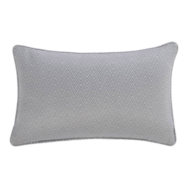 Silver Harrison Boudoir Cushion