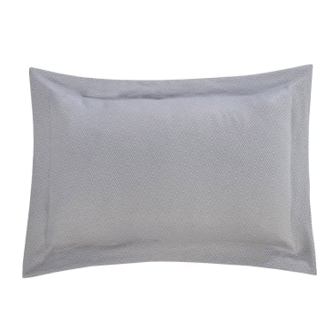 Silver Harrison Oxford Pillow Cases