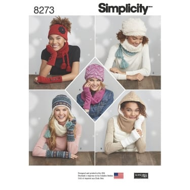 Simplicity Pattern 8273 One Size