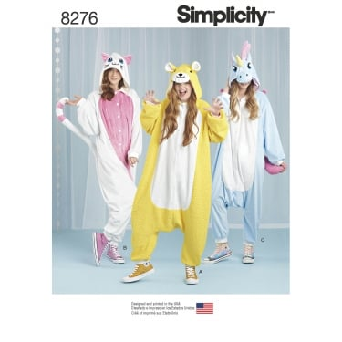Simplicity Pattern 8276 All Sizes