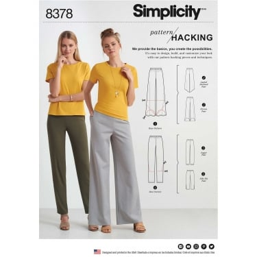 Simplicity Pattern 8378 All Sizes