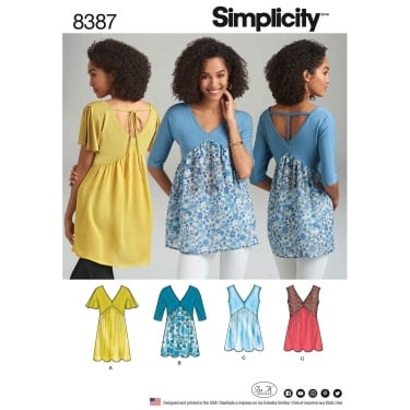 Tops Shirts Blouses Sewing Patterns
