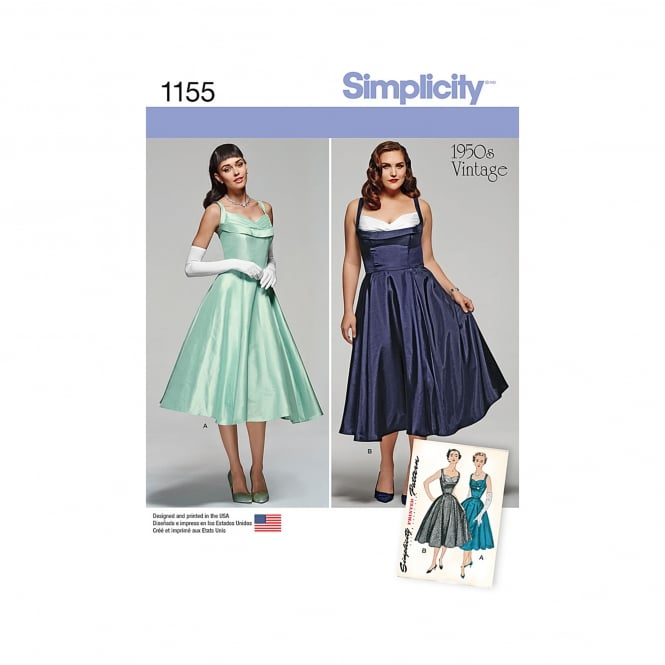 Simplicity Sewing Pattern 1155 Size 10 - 18
