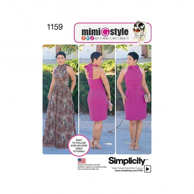 Simplicity Sewing Pattern 1159 U5 Size 16 - 24