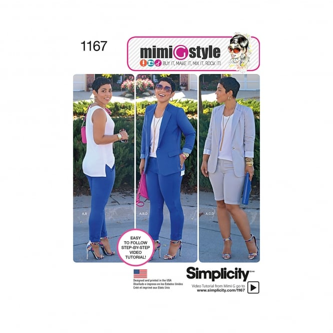 Simplicity Sewing Pattern 1167 Size 6 - 14