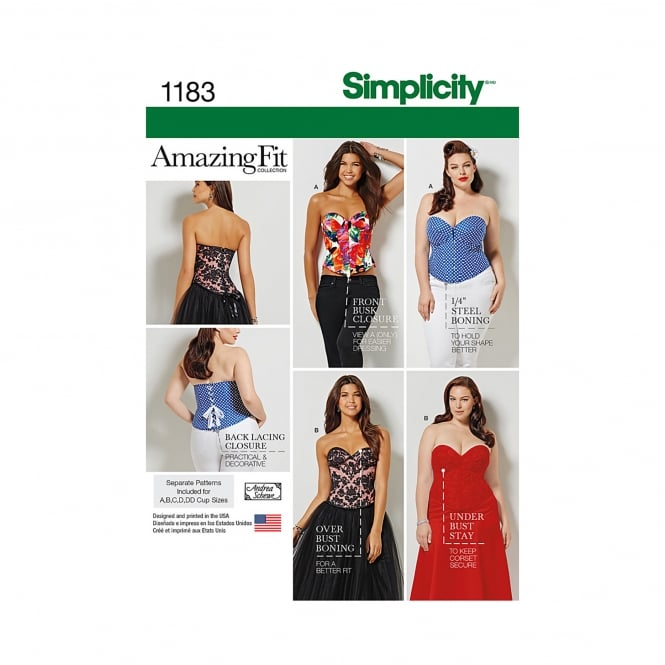 Simplicity Sewing Pattern 1183 Size 10 - 18
