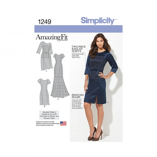 Simplicity Sewing Pattern 1249 AA Size 10 - 18