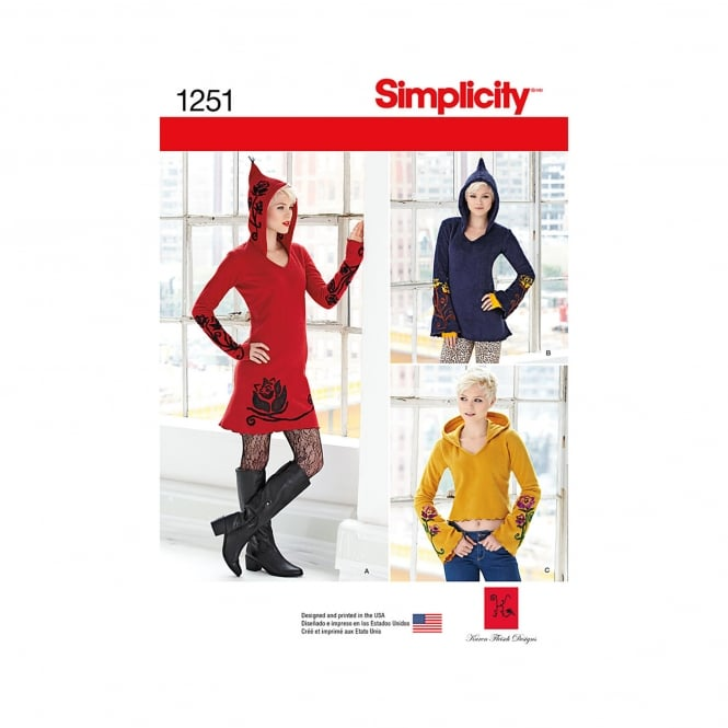 Simplicity Sewing Pattern 1251 P5 Size 12 - 20