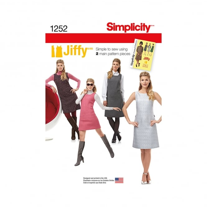 Simplicity Sewing Pattern 1252 H5 Size 6 - 14