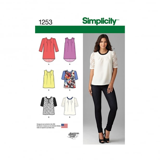 Simplicity Sewing Pattern 1253 D5 Size 4 - 12