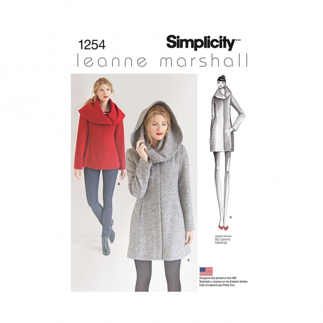 Simplicity Sewing Pattern 1254 R5 Size 14 - 22