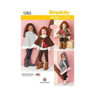 Simplicity Sewing Pattern 1263 Size S - L