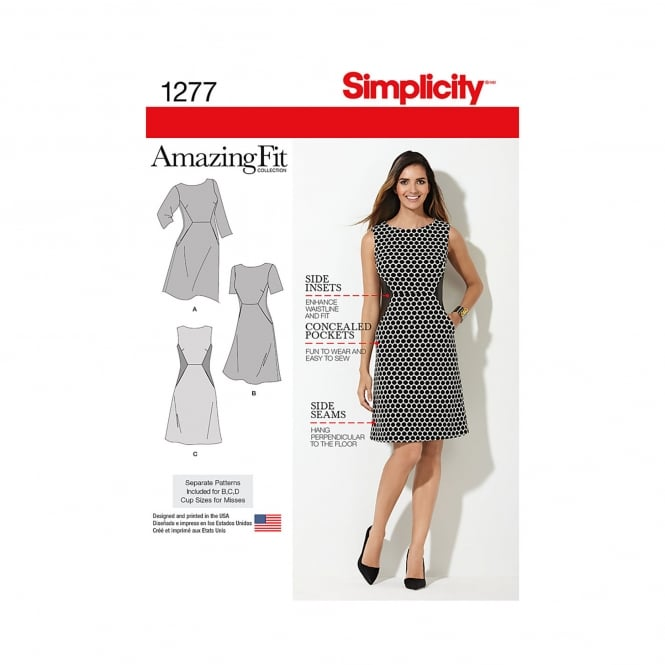 Simplicity Sewing Pattern 1277 AA Size 10 - 18