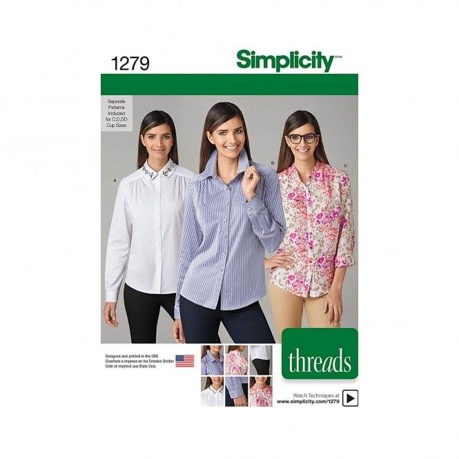 Simplicity Sewing Pattern 1279 R5 Size 14 - 22