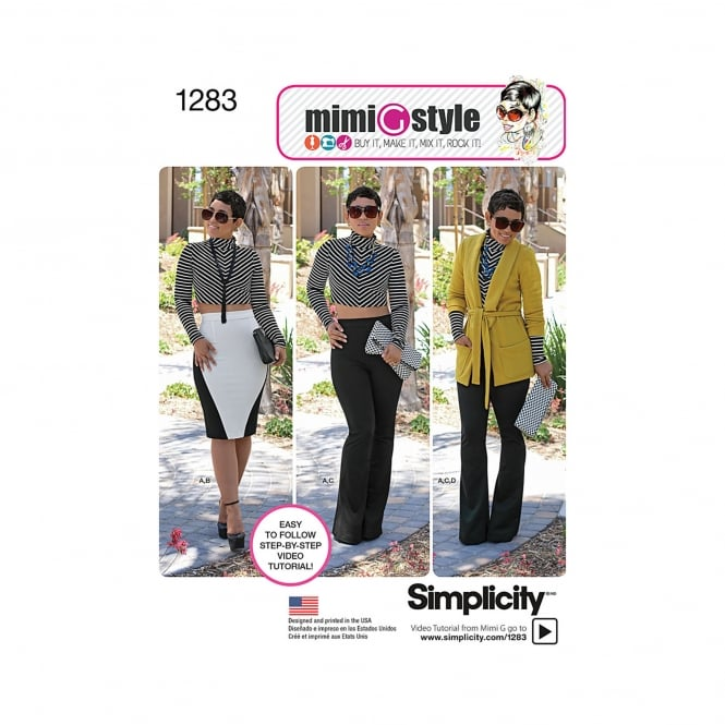 Simplicity Sewing Pattern 1283 H5 Size 6 - 14