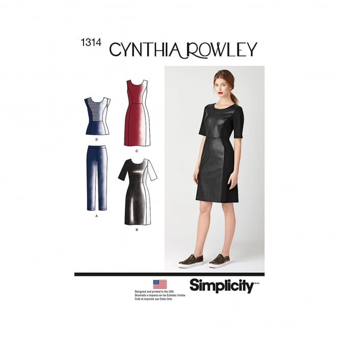 Simplicity Sewing Pattern 1314 H5 Size 6 - 14