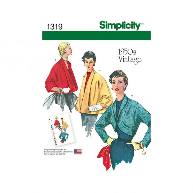 Simplicity Sewing Pattern 1319 R5 Size 14 - 22