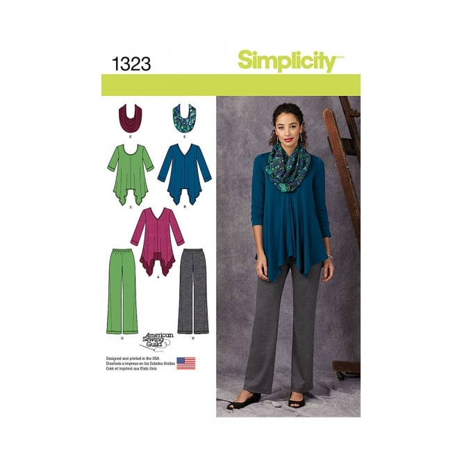 Simplicity Sewing Pattern 1323 H5 Size 6 - 14