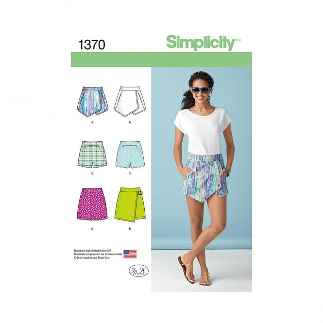 Simplicity Sewing Pattern 1370 D5 Size 4-12