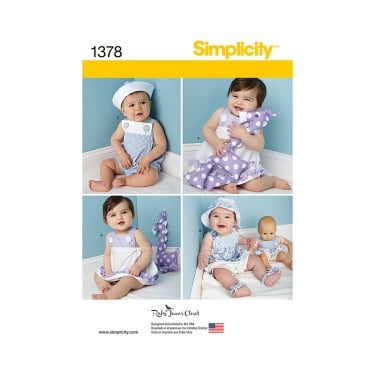 Simplicity Sewing Pattern 1378 Size XS - L