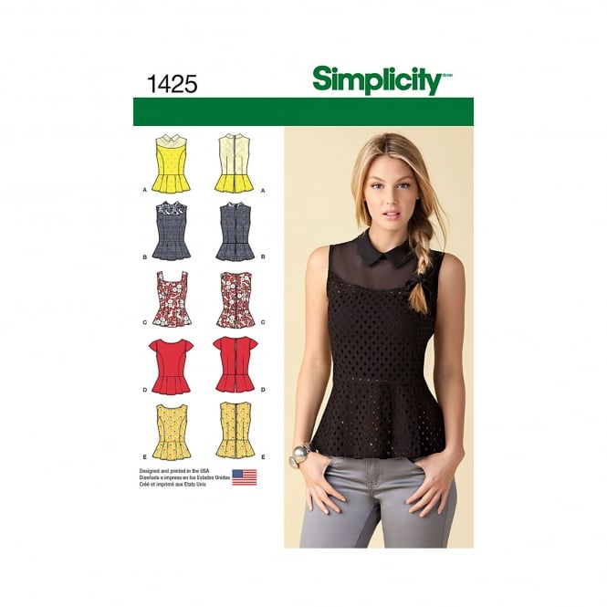 Simplicity Sewing Pattern 1425 Size 4-12