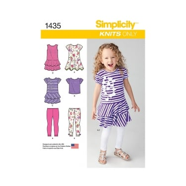 Simplicity Sewing Pattern 1435 Size 3 - 8 years