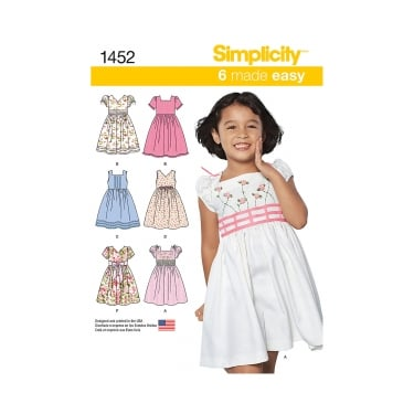 Simplicity Sewing Pattern 1452 Size 3 - 8 years