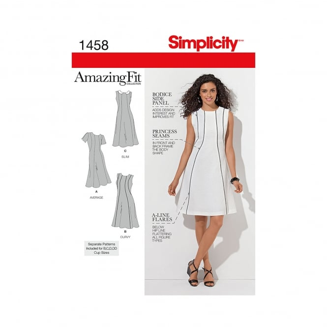 Simplicity Sewing Pattern 1458 Size 10 - 18