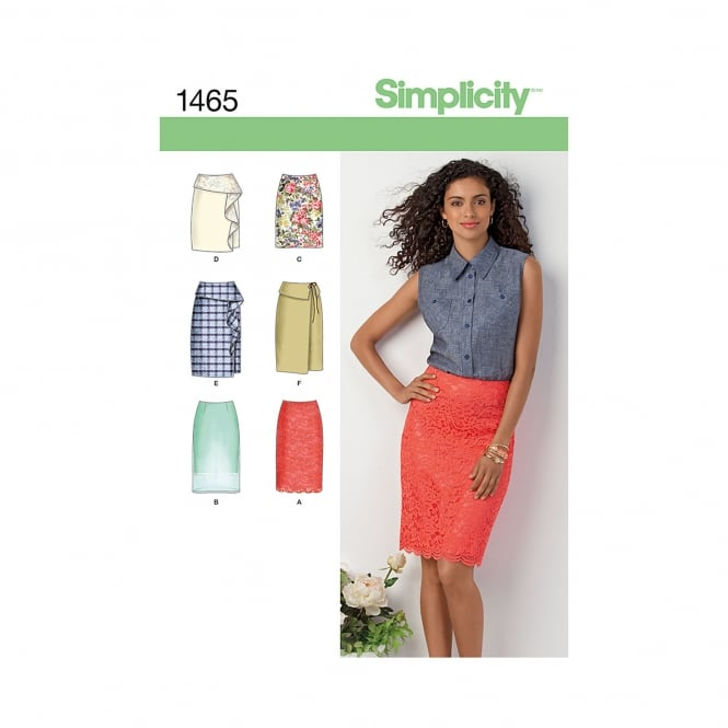 Simplicity Sewing Pattern 1465 Size 6 - 14