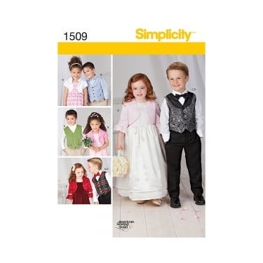 Simplicity Sewing Pattern 1509 Size 3 - 8 years