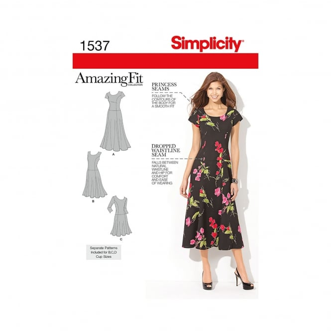 Simplicity Sewing Pattern 1537 Size 10-18