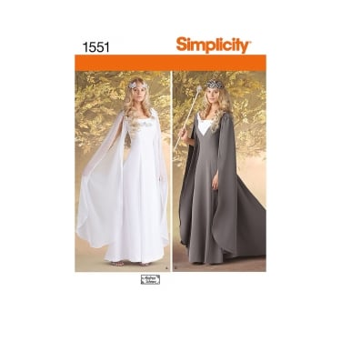 Simplicity Sewing Pattern 1551 U5 Size 16 - 24