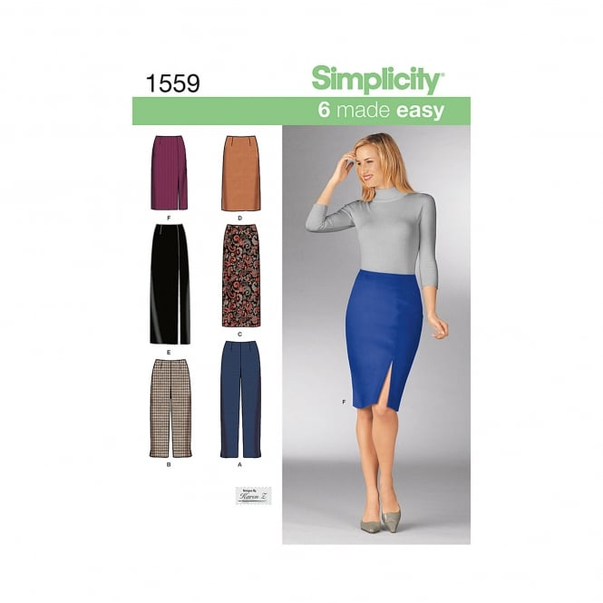 Simplicity Sewing Pattern 1559 Size 8 - 14