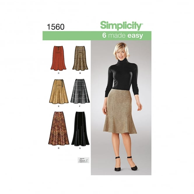 Simplicity Sewing Pattern 1560 R5 Size 14 - 22
