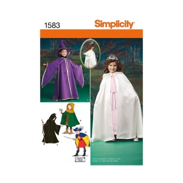 Simplicity Sewing Pattern 1583 Size 3 - 8 years