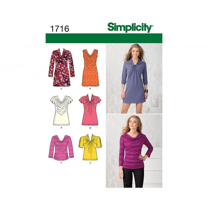 Simplicity Sewing Pattern 1716 P5 Size 12 - 20