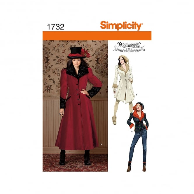 Simplicity Sewing Pattern 1732 H5 Size 6 - 14