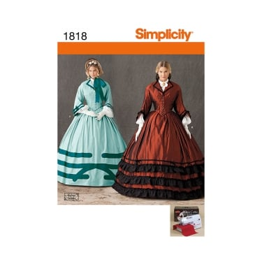 Simplicity Sewing Pattern 1818 Size 8 - 14